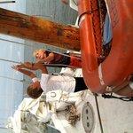 Lifting the sails
