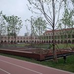 Inside the renovated Minyuan Stadium