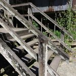 Stairs to the LongHouse