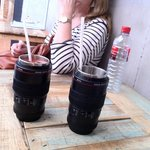 Yes, they are drinks, not lenses!