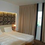 Habitación correcta, cómoda y funcional