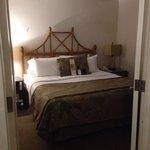 Upgraded bedroom- room 408.