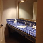 Bathroom area 408