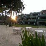 Sunrise over Boracay Beach Terraces