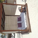 Our Cabana on the beach