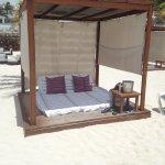 Our Cabana on the beach