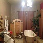 Bathroom area of bedroom