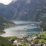 Vue du fjord de Geiranger