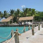 Own private beach area.