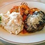 Filet, Shrimp & Lobster Mash Potatoes