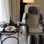 Relaxing at royal club room!