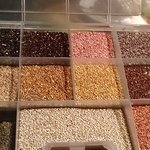 Some of the 362 varieties of quinoa grown in the  Puno region.