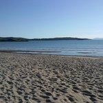 Beautiful white sand beach in Gairloch