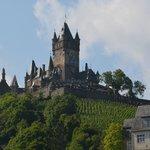Blick auf die Burg Cochem