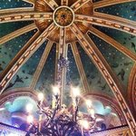 Castell Coch's nature-inspired ceiling