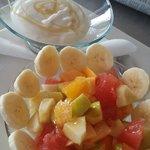 Excellent fruit salad for breakfast