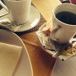 Кофе латте и чай!