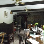 The dining room - excellent food