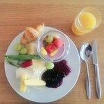 Delicious breakfast at Bellas ������