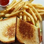 BLT with fries.