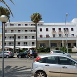 Hotel frontage.