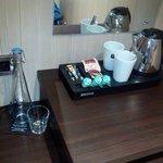 Calentador de agua para café o te