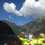 High speed in the Geiranger Fjord