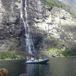 Get close to the Seven Sisters Falls