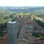 Vue du haut de la tour