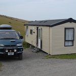 Ocean view 2 bedroomed caravan