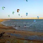 evening kite session