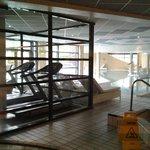 salle de fitness, piscine