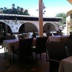 Beautiful tranquil, courtyard setting