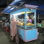 Food stall at Gianyar Night Market