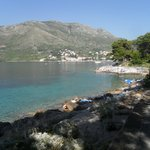 One of the bathing areas around Cavtat