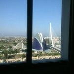 Vista dalla nostra camera, la 721.