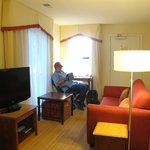 Desk and couch junior suite 13.21