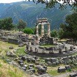 Delphi - Temple of Athena