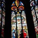***  Vitrail d'Arnaud de Moles - Chapelle du Saint-Sacrement : Crucifixion ***