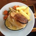 Amazing pie wonderful flavour