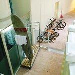 Surfboard/Bicycle storage!! FREE!!!