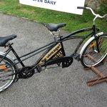 tandembike rental (part of vintage package)