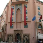 the front of hotel Ryad Mogador Opera