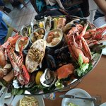 Seafood Platter (supposedly) for 2!
