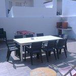 Hostel accommodation at Baleal Hostel II - Backyard and BBQ