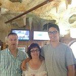 felices vacaciones familiares en Rock Gardens