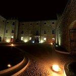 Castello di Ramazzano. Panorama notturno
