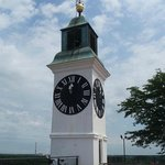 The Clock Tower within the Petrovaradin Fortress