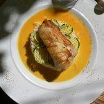 рыба в апельсиновом соусе