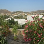 Paros Paradise Apartments approach